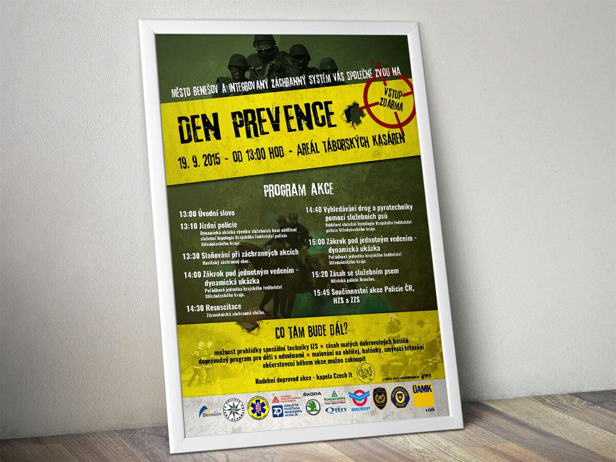 Plakát na Den Prevence