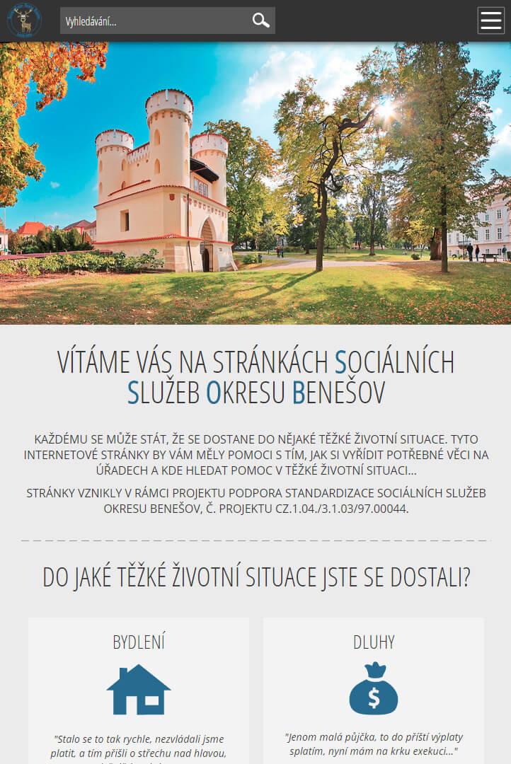 Sociální služby okresu Benešov