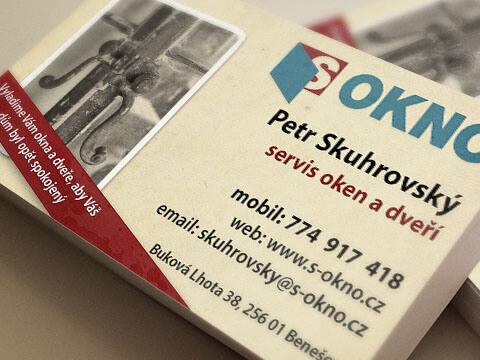 Petr Skuhrovský - vizitky